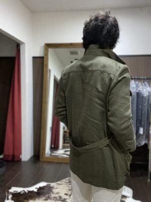 アルテ平和本店 オリジナルサファリジャケット 背面