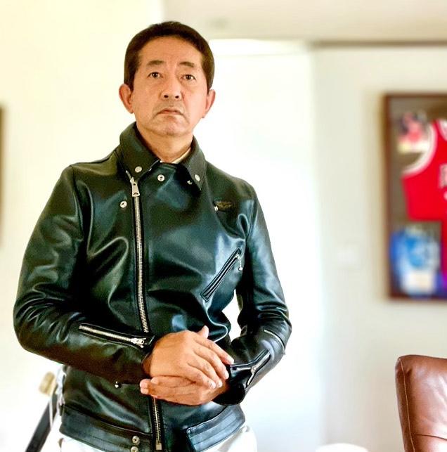 ルイスレザーのライダースジャケットのサイズ直し2